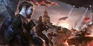 Картинки Воины Homefront The Revolution Игры
