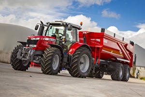 Фотографии Трактор 2016-17 Massey Ferguson 6718 S Worldwide