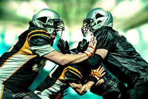 Обои Американский футбол Мужчины Шлем Спорт