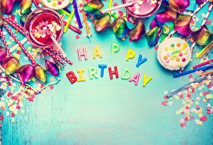 Фотографии День рождения Английский Конфетти