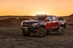 Обои Шевроле Стайлинг Пикап кузов 2017 Hall Racing Colorado ZR2 Extended Cab