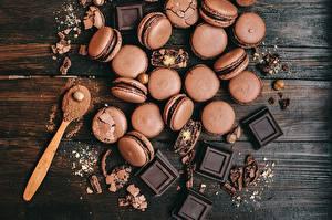 Обои Шоколад Макарон Ложка