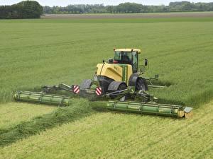 Картинка Поля Сельскохозяйственная техника 20117-18 Krone BiG M 500