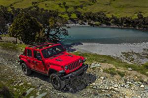 Картинка Джип Красный Металлик 2018 Wrangler Unlimited Rubicon авто