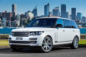Фотография Range Rover Внедорожник Белый 2016 SV Autobiography LWB Машины