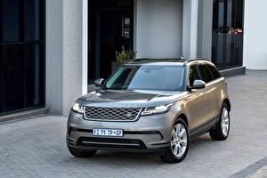 Фотографии Range Rover Серый 2017 Velar D240 HSE Автомобили