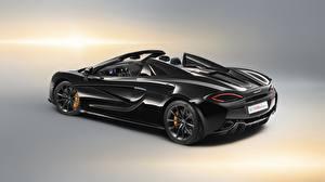 Фотографии McLaren Черных Родстер 2018, 570S, Design Edition