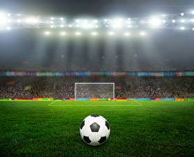 Фото Стадион Газон Мяч Спорт