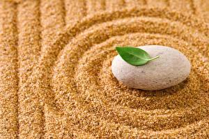 Картинки Камни Вблизи Песок Окружность zen