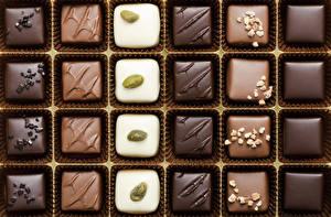 Обои Сладости Конфеты Шоколад Еда картинки