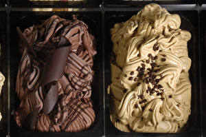 Картинки Сладости Мороженое Шоколад Кофе Зерна Еда