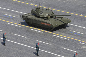 Фотография Танк Российские 2015-18 T-14 Armata Армия