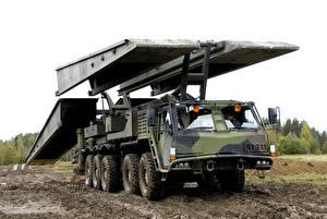 Фотография Грузовики 2006-18 Sisu E15T 10×10 KMW Bridge System