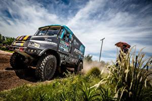 Картинки Грузовики Стайлинг Гонки 2014-17 Tatra Jamal Team Bonver Dakar Project