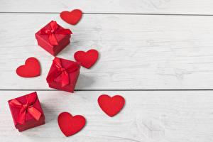 Обои День святого Валентина Сердечко Подарки