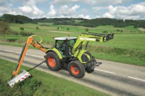 Картинка Сельскохозяйственная техника Claas Arion