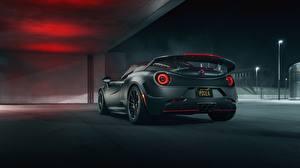 Обои Альфа ромео Вид Серый 4C Nemesis Pogea Racing Авто