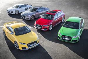 Обои Audi Металлик Автомобили