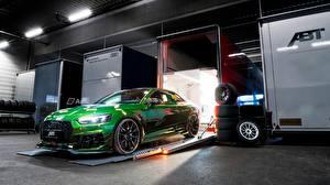 Фотография Ауди Зеленый Купе RS5 2018 RS5-R ABT Авто