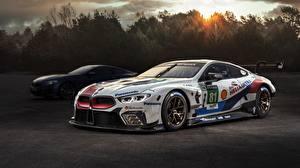 Картинки BMW Тюнинг M8 2018 GTE автомобиль