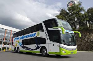 Картинка Автобус 2017 Marcopolo Paradiso 1800 DD Volvo B430R 6×2 Машины