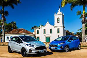 Картинки Форд 2 2017-18 Fiesta Автомобили