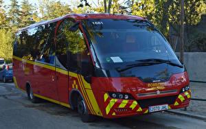 Картинка IVECO Автобус Металлик Indcar Mago Машины