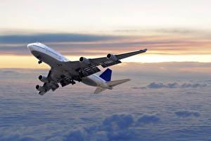 Обои Самолеты Пассажирские Самолеты Летят Авиация