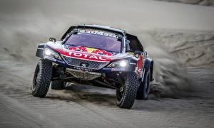Картинка Peugeot Ралли 3008 DKR Dakar Машины