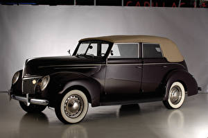 Картинка Винтаж Форд 1939 V8 Deluxe Convertible Fordor Sedan автомобиль