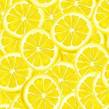 Обои Текстура Лимоны