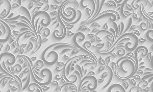 Картинка Орнамент Текстура Растения