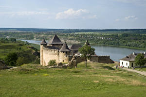 Фото Украина Крепость Речка Khotyn Fortress Chernivtsi Oblast