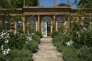 Фотография Великобритания Дома Кусты Bowood House Wiltshire
