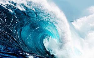 Фотография Волны Океан Море Природа