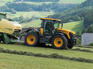 Картинки Сельскохозяйственная техника Трактор 2014-18 JCB Fastrac 4220