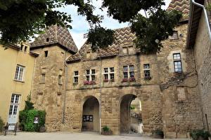 Обои Франция Здания Saint Antoine l-Abbaye Города