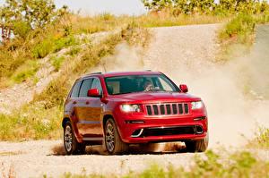 Фотография Джип Внедорожник Красный Металлик Cherokee машины