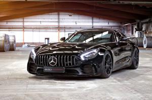 Картинка Mercedes-Benz Черный Металлик 2018 Edo Competition GT R машина