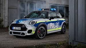 Фотография Mini Полицейский 2018 John Cooper Works Автомобили
