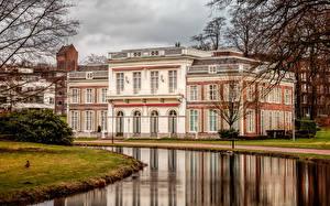 Фотографии Нидерланды Здания Водный канал Arnhem Guelders Города