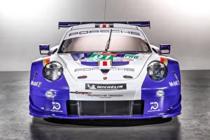 Обои Порше Тюнинг Спереди 2018 911 RSR Автомобили