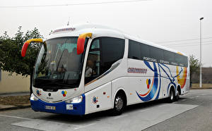 Фото Сканиа Автобус Белый IRIZAR PB SCANIA Машины