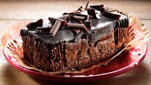 Картинка Сладости Пирожное Шоколад