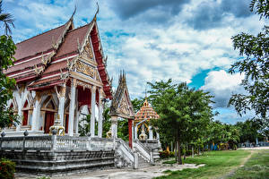 Фото Таиланд Храмы Дизайн Buddhist Temples Buriram