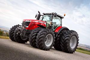 Фотография Сельскохозяйственная техника Трактор 2015-16 Massey Ferguson 8737