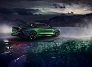 Фотография БМВ Зеленый Купе M8 Gran Coupe Concept Авто