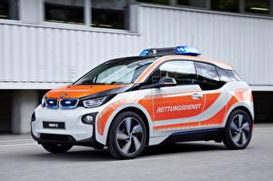 Обои BMW Тюнинг Полицейская 2015 i3 NEF автомобиль