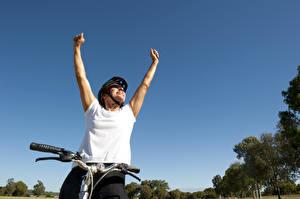 Фото Велосипедный руль Счастье Руки Спорт