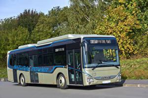 Фотографии IVECO Автобус 2017 Crossway LE Natural Power Автомобили